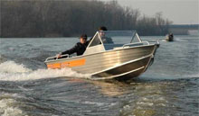 тестирование лодки WellBoat 45